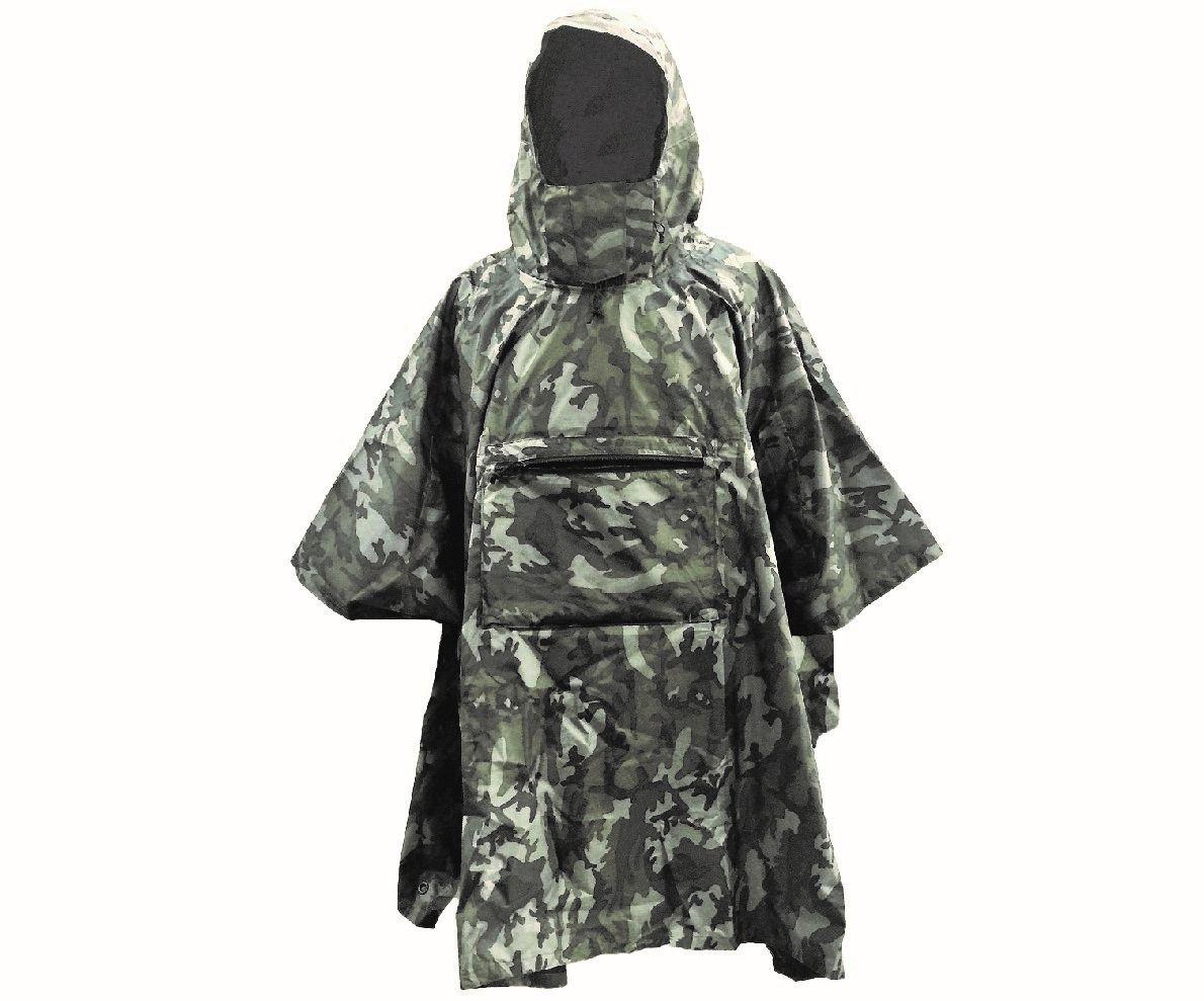 限定-迷彩系防水透氣雨衣